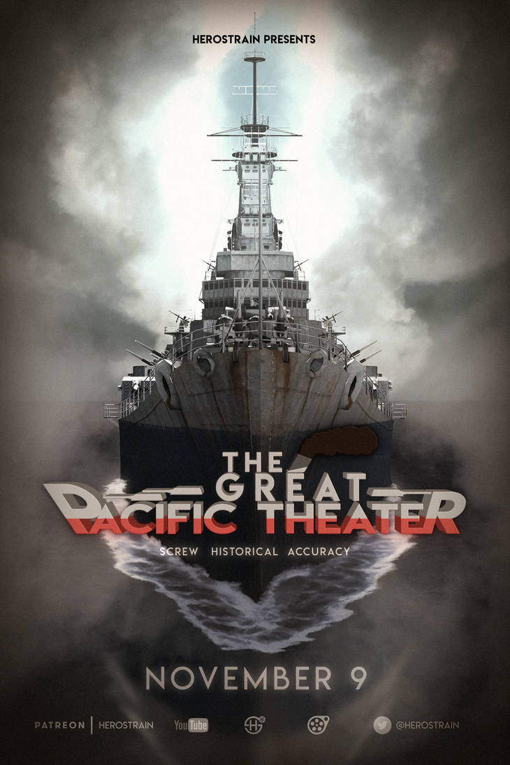 The Great Pacific Theater (Poster) by Herostrain