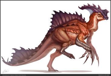 Dino Hybrid by SamSantala