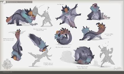 MH:World - Donkestra Animation Sheet by SamSantala