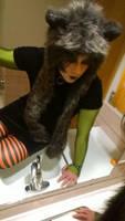 Boy to Cat-Girl Halloween Costume by Gun-Cougar