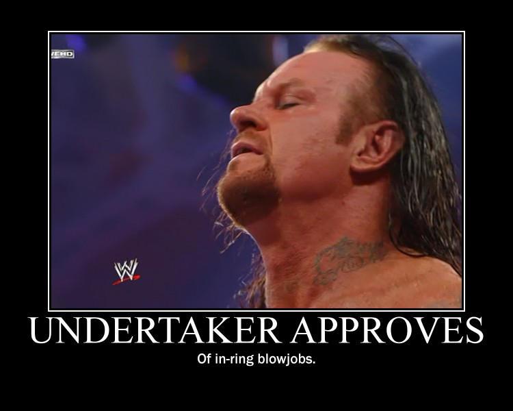 Undertaker Approves by SkullSkellBlink