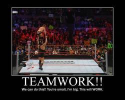 Teamwork - Jerishow by SkullSkellBlink