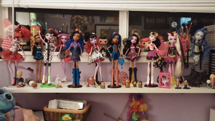 Monster High Collection by SkullSkellBlink
