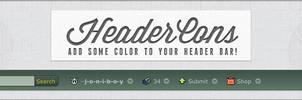 HeaderCons - Add some color to dA's header bar! by jonarific
