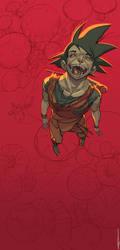 Goku Fanart. by martegod
