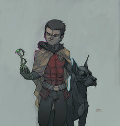 Damian. by martegod