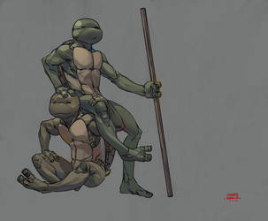 TMNT Fanart. by martegod