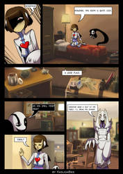 FutureTale: CHAPTER 1 - RUINS 30 page by KasugaBee