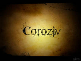 Coroziv Secondary Logo by adrenn