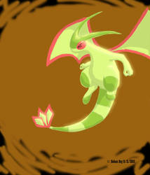 Flygon speed-paint by captaincabbage