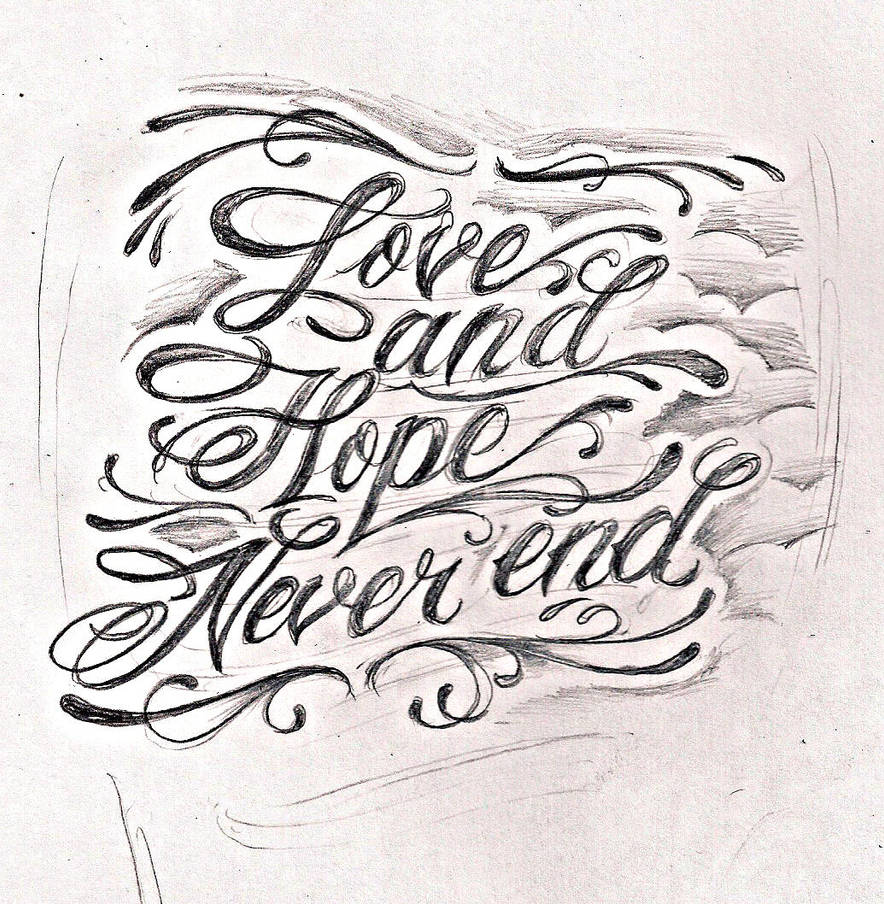 Tattoo Script Lettering 2 By Jeremyworst On Deviantart