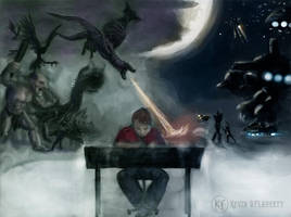 The Battle of Imaginary Worlds by PunkBoyLeech
