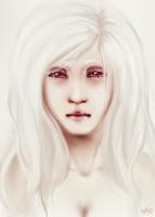 - Albino Girl - by BioV-xen