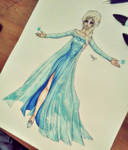 - Elsa the Snow Queen - by BioV-xen