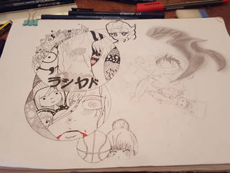 anime world by rashadRMG