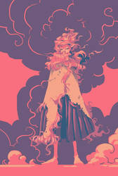 Pink Little Monkey by Aetherkin