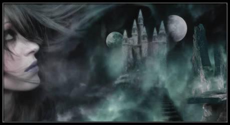 CastleInTheFog by WitheredDoll