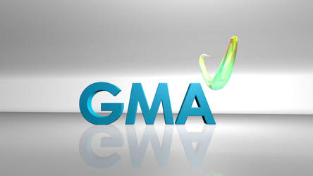 GMA Network 3d heart by Luis Asirit by webdesigner1217