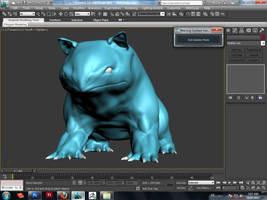WIP (bulbasaur) by AeroleFlock
