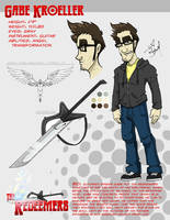 Redeemers - Gabe Model Sheet by wheretheresawil