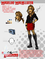 Redeemers - Maddie Model Sheet by wheretheresawil