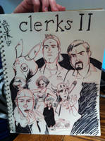 Clerks II Convention Sketch by wheretheresawil
