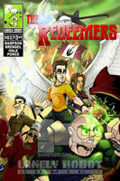 The Redeemers #3 cover by wheretheresawil