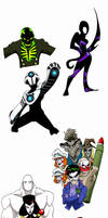 The Villains by wheretheresawil