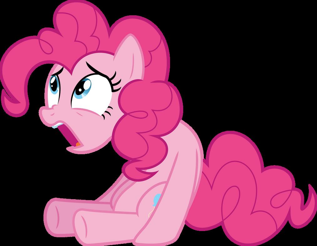 Pinkie Pie baffled by Dusk2k
