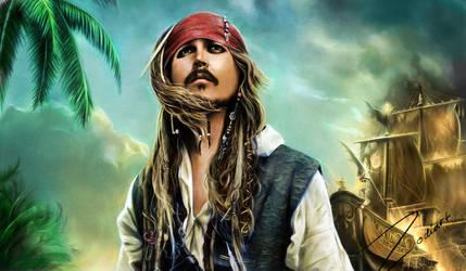 Jack Sparrow by Zodiart
