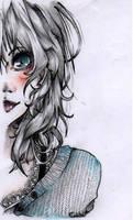 Pencil Portrait Experiment by FabulousFish