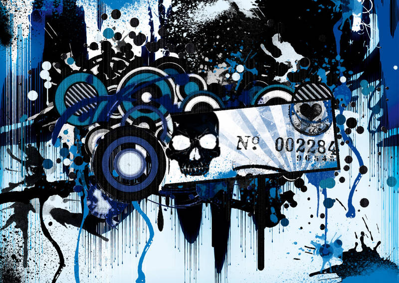 Retro Grunge by ReaperXXIV