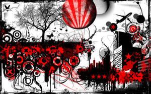 Mangled Skyline by ReaperXXIV