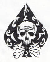 The Skull Of Spades by ReaperXXIV
