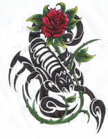 Scorpian Sting by ReaperXXIV