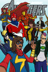 My Avengers Dream Team! by sebcarey