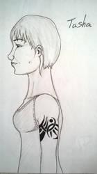 Tasha's Tribal Tattoo by Trunse