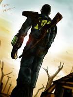 Fallout 3 Lone wanderer by Noar03