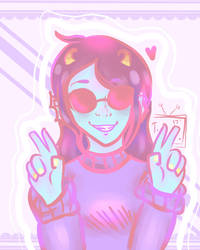 Trollsona :3 by glasses2-0