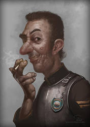 Corporal Nobbs, Ankh-Morpork CIty Watch by SimonPrime