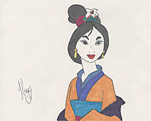 Mulan by Noohime