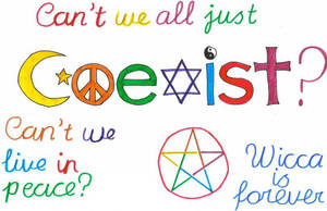 Coexist - live together by Toboe217
