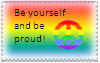 Be yourself and be proud by Toboe217