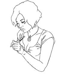 The Drawing -step 1- by NewLucidity