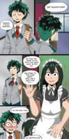 Commission #44 - Comic Page by SilentSnow777