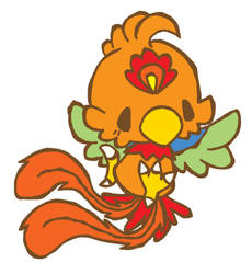 A Chinese phoenix by inopoke