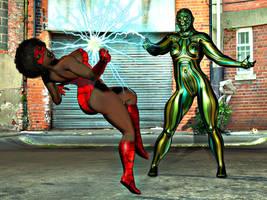 Spider Vixen 2 by Mad-Mikhail