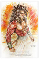 Super Saiyan 4 by leemarej
