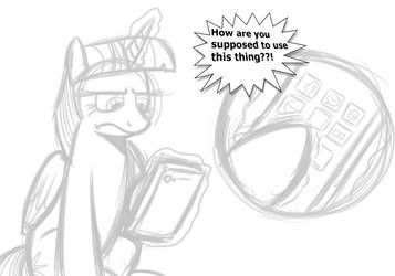 Twilight VS Iphone by XxCeruleanSketch158