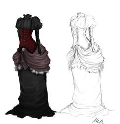 Dress by wiccimm